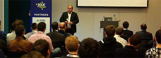 JAX finance conference for tech in finance henk Kolk