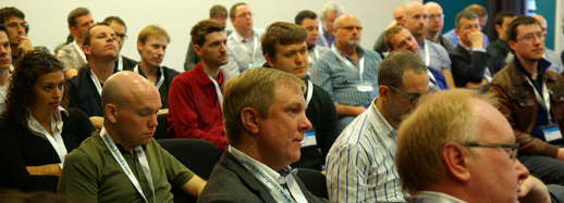 JAX finance conference for tech in finance attendees in session