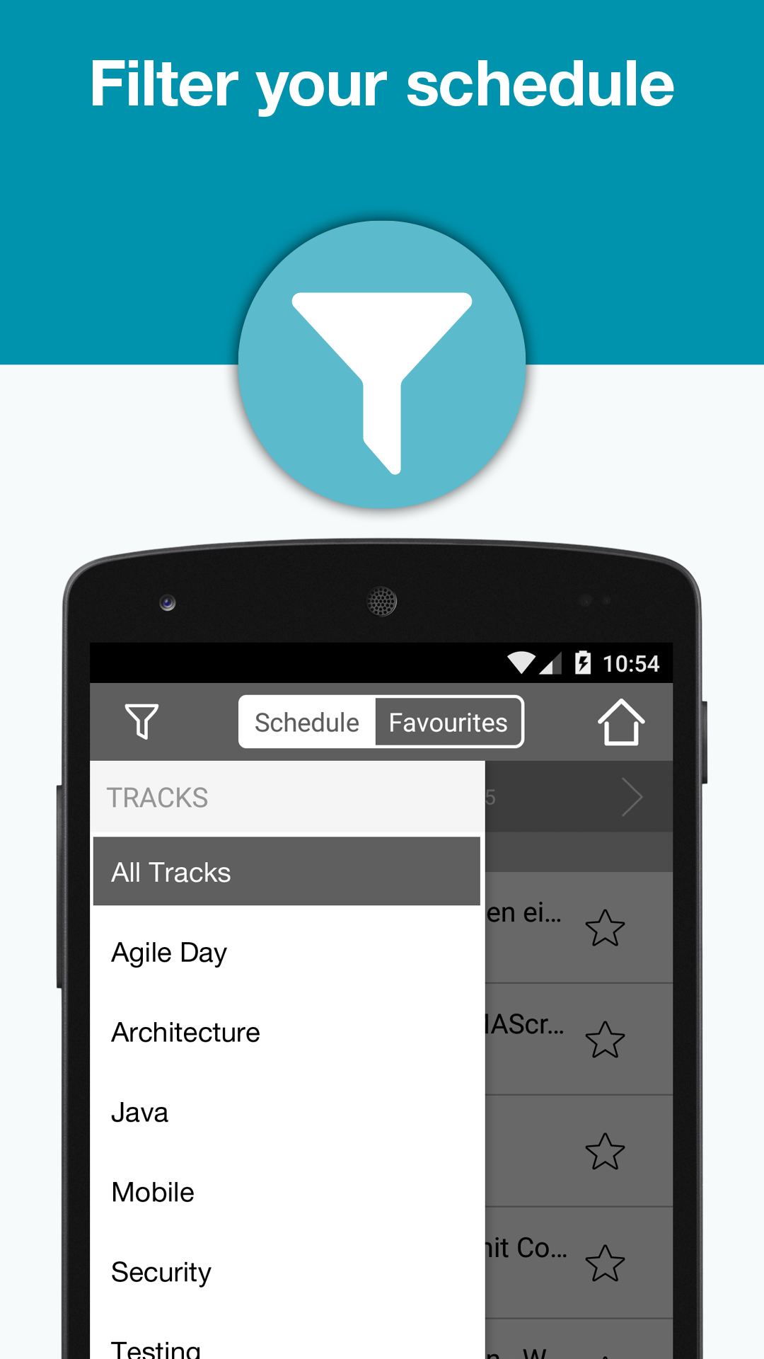 JAX DevOps JAX Finance mobile app screenshot