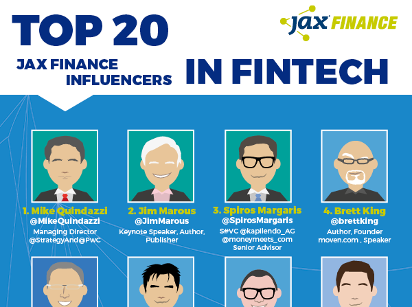 finance.jaxlondon.com - swagner - TOP 20 SOCIAL INFLUENCERS IN FINTECH 2017
