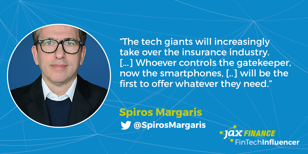 No. 3 FinTech Influencer Spiros Margaris
